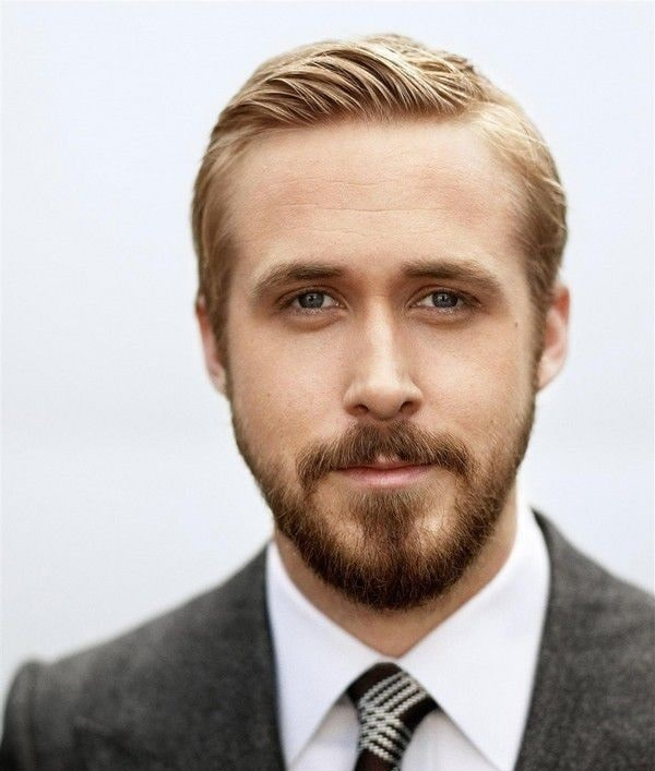 Goatee beard style by Ryan Gosling