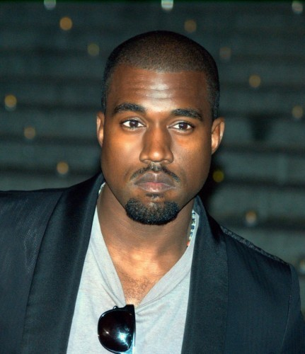 Kanye West's Goatee with Moustache