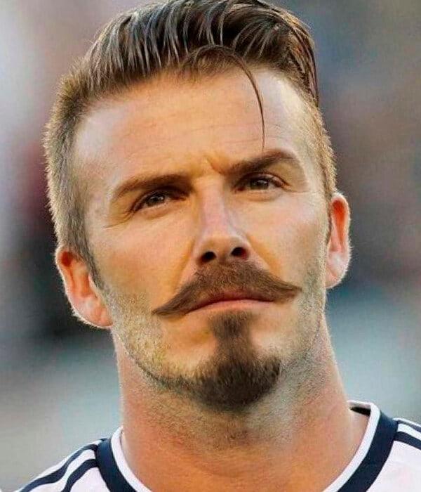 David Beckham's Short Goatee Style beard