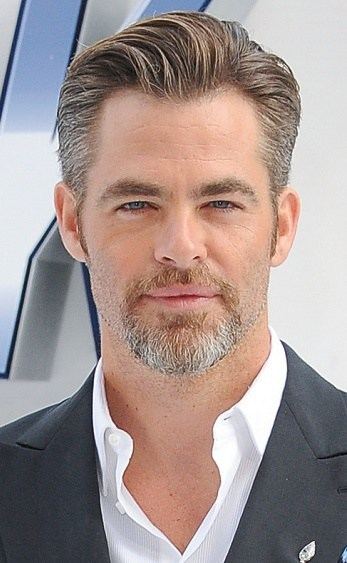 Chris Pine's Full Goatee Goatee beard