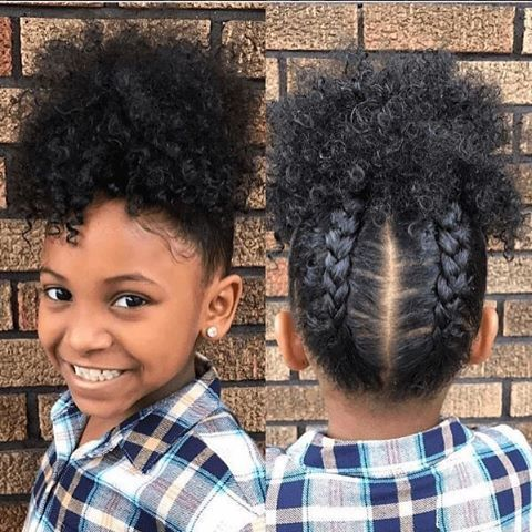 Gorgeous Updo for Kids and Women