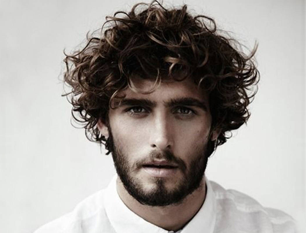 20 Men's Curly Haircuts to Stand Out of The Crowd - Cool ...