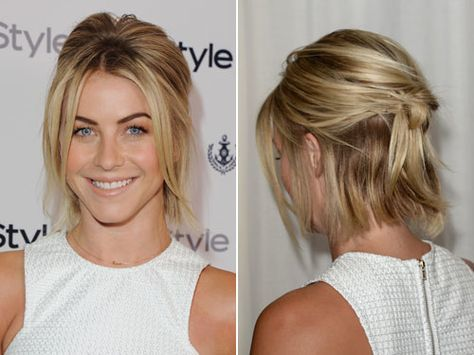 12 Most Famous Julianne Hough S Short Hairstyles