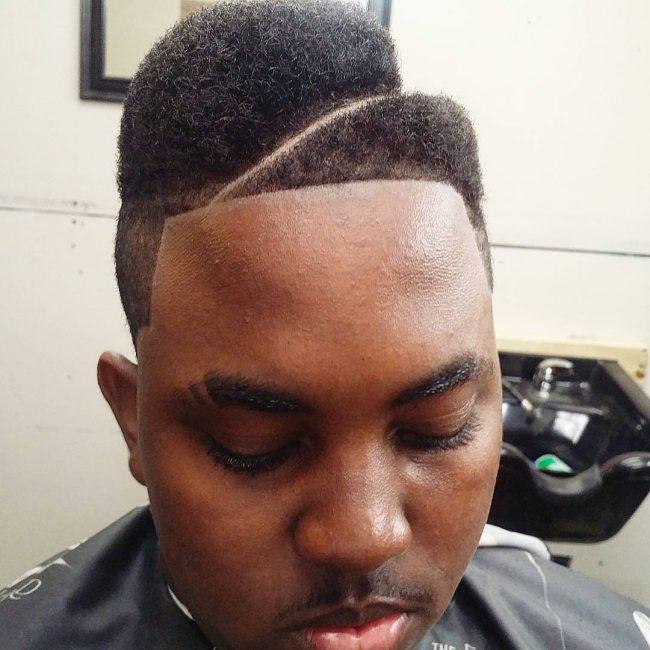 Half juice fade is a combination of fades, tramlines, and unequal hair size at the both sides. A tramline separates two sides of hair while fade at both ...
