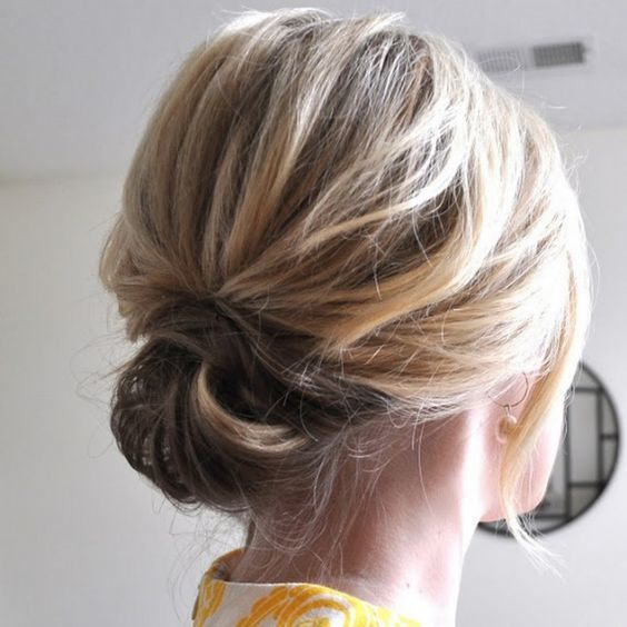 Half-Knot Hairstyle