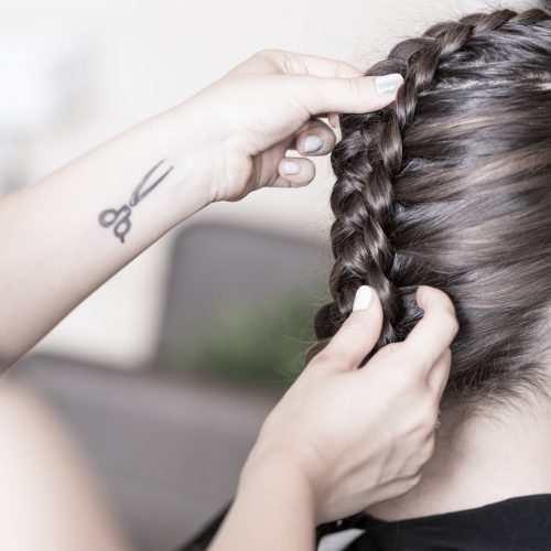 how to style dutch braid hair