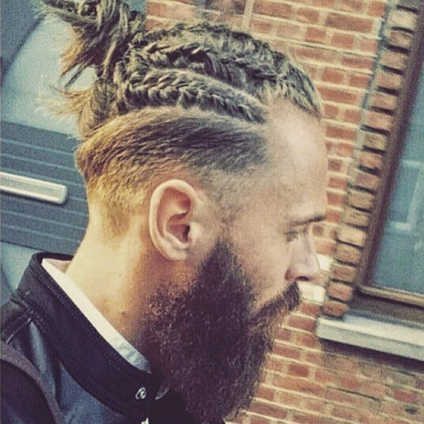 10 Incredible Individual Braids For Men Hairstylecamp