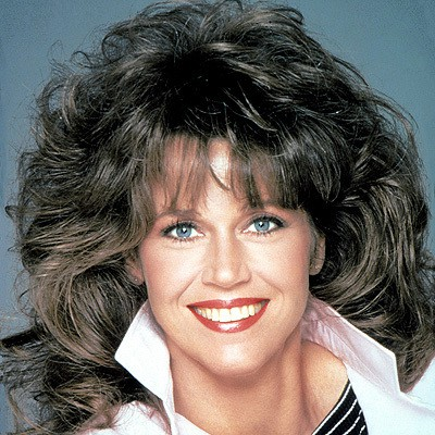 Jane Fonda's 80's Big Hair