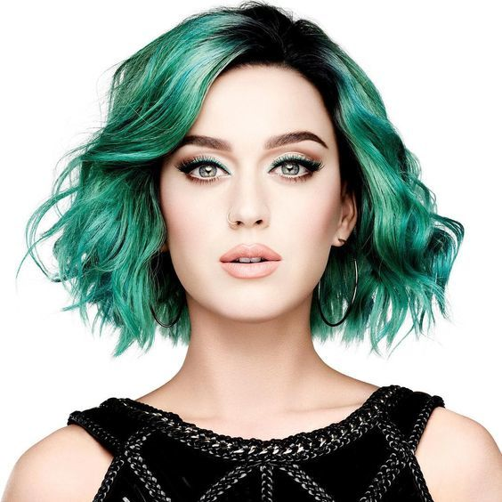 Green Hair for Katy Perry