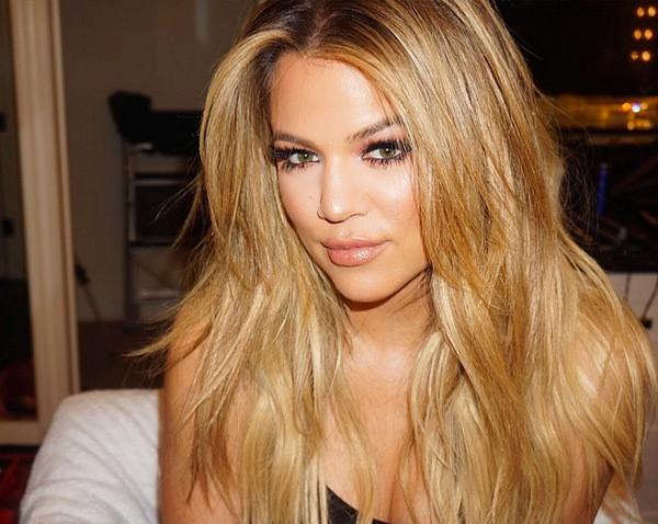 Buttery Blonde khloe kardashian hairstyle