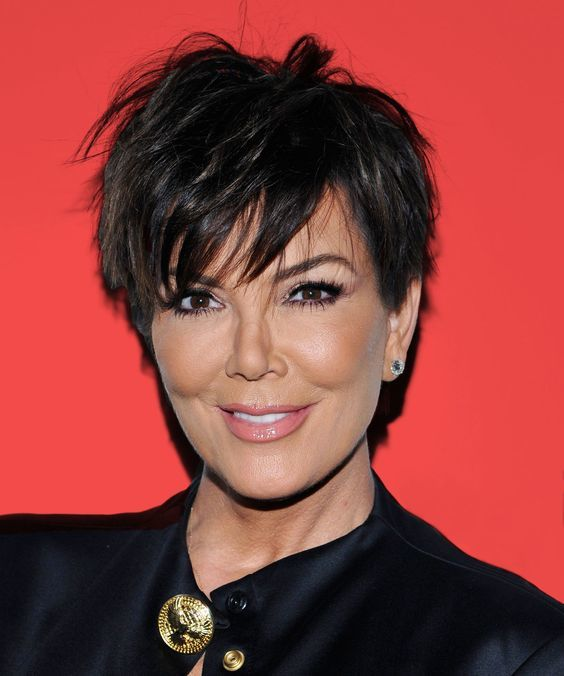 12 ways kris jenner wore her infamous haircut kris jenners pixie haircut urmus Gallery