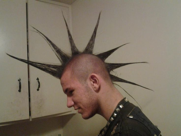 Spike Hair Style: 20 Absolute Punky Liberty Spikes For Men