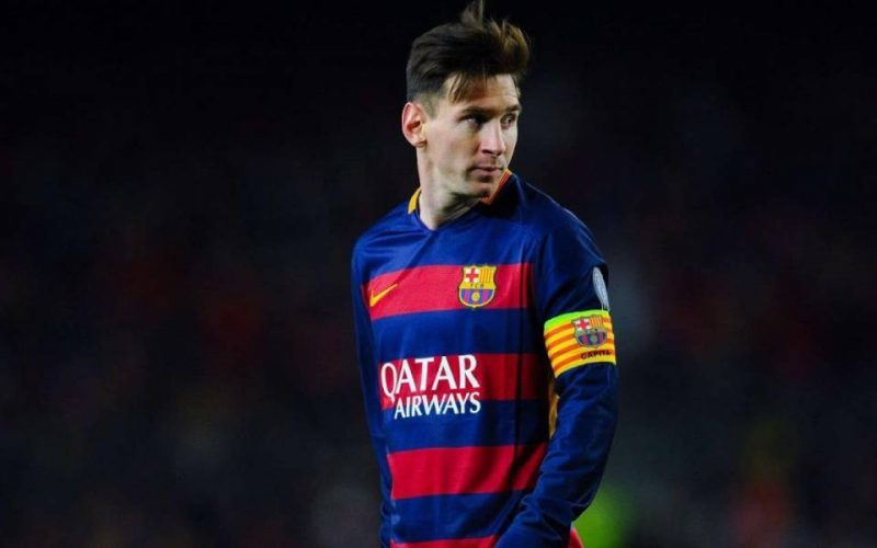 Lionel Messi Comb Over Hairstyle