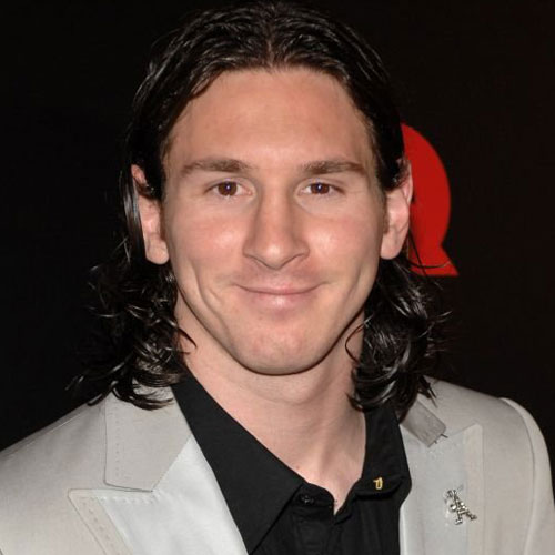 Lionel Messi Long Hairstyle