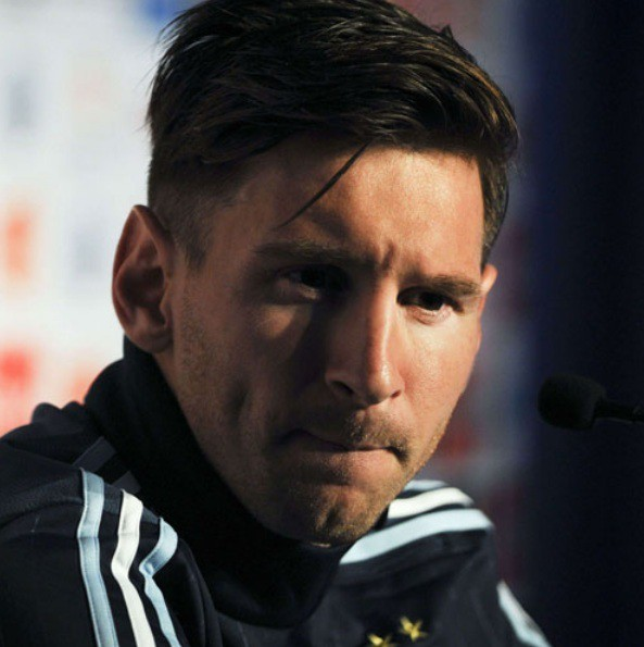 Lionel Messi nice Hairstyle