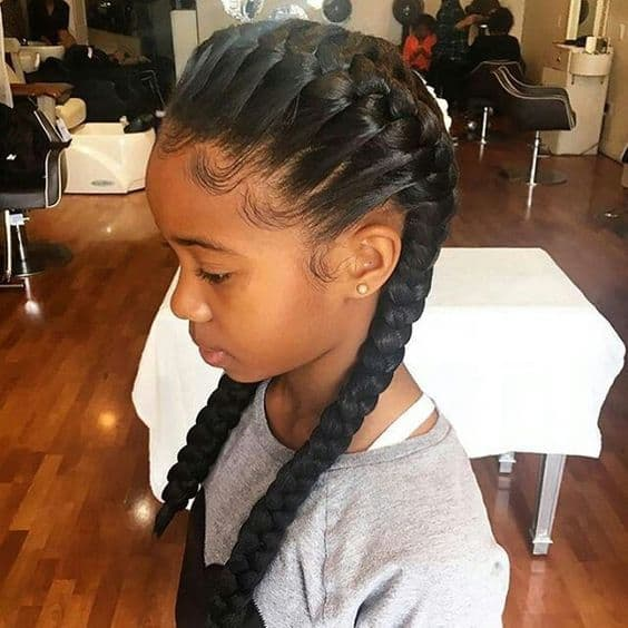 20 Ideal Little Black Girl Hairstyles For School Hairstylecamp