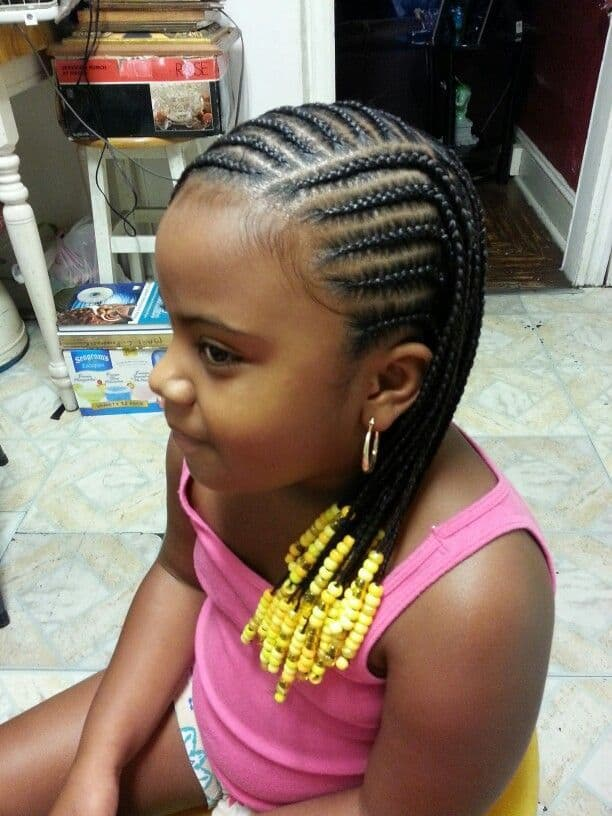 17 Attractive Little Girl Hairstyles With Beads Hairstylecamp