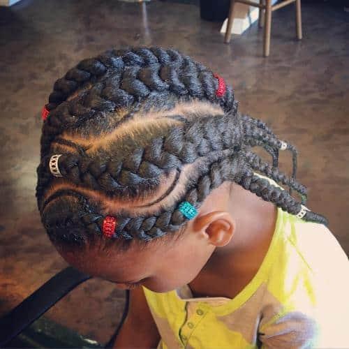 10 Splendid Little Girl Cornrows For 2019 Hairstylecamp