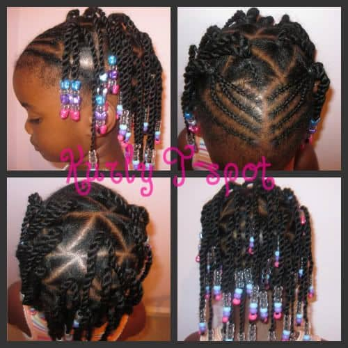 21 Attractive Little Girl Hairstyles with Beads \u2013 HairstyleCamp