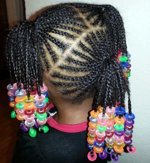 21 Attractive Little Girl Hairstyles with Beads – HairstyleCamp