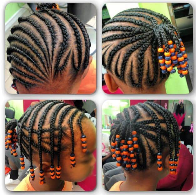 30 Attractive Little Girl Hairstyles With Beads