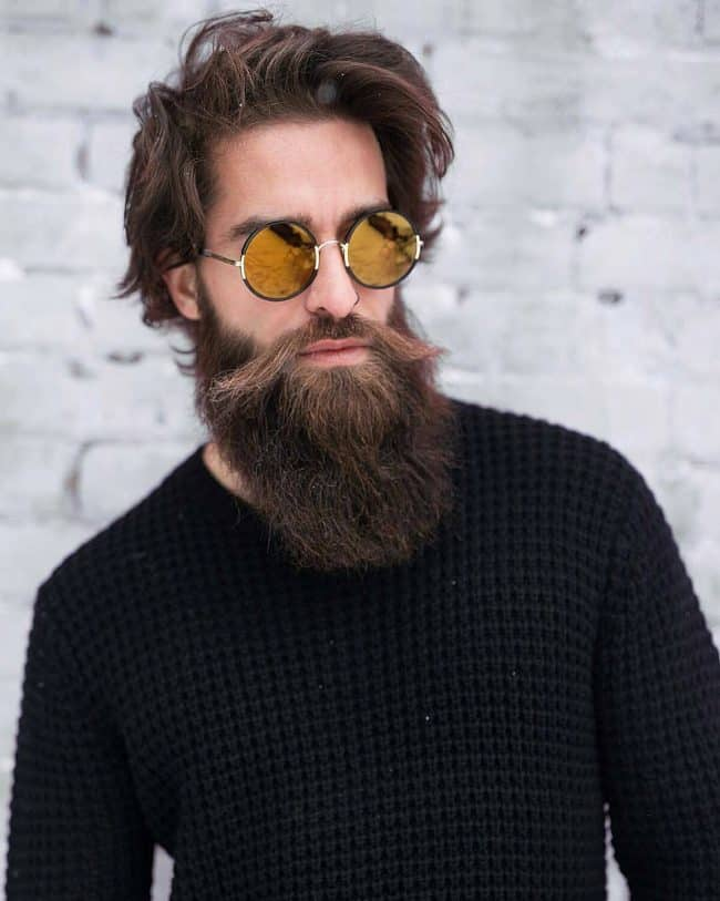 45 Long Beard Styles Trending Right Now In 2020 Hairstylecamp