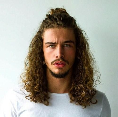 10 Men S Long Curly Hairstyles For Damn Cool Look
