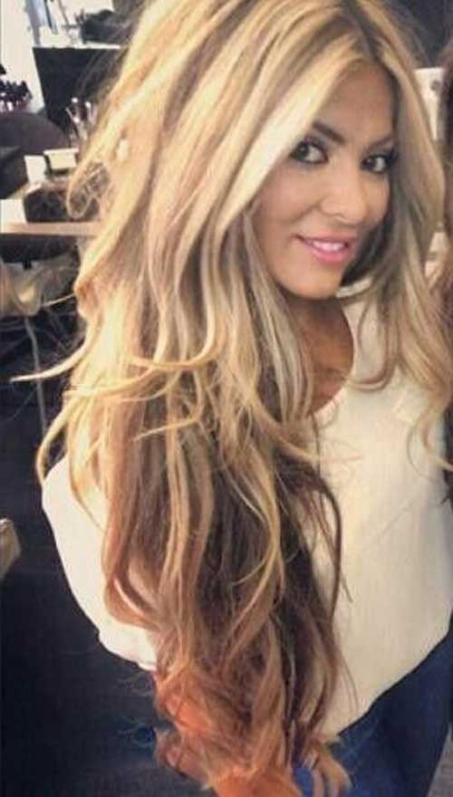 Long Layered Hairstyles 50 cute layered hairstyles and cuts for long hair Highlights With Long Layered Hair Style