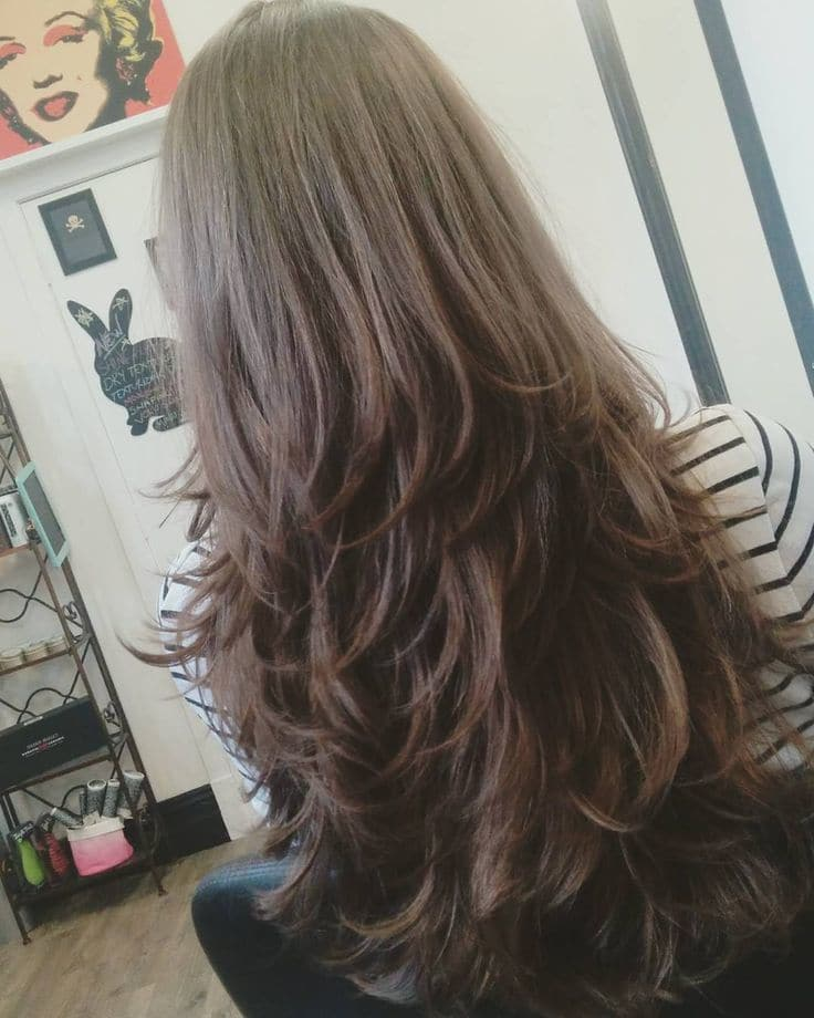20 Luxurious Long Layered Hairstyles For Women Hairstylecamp