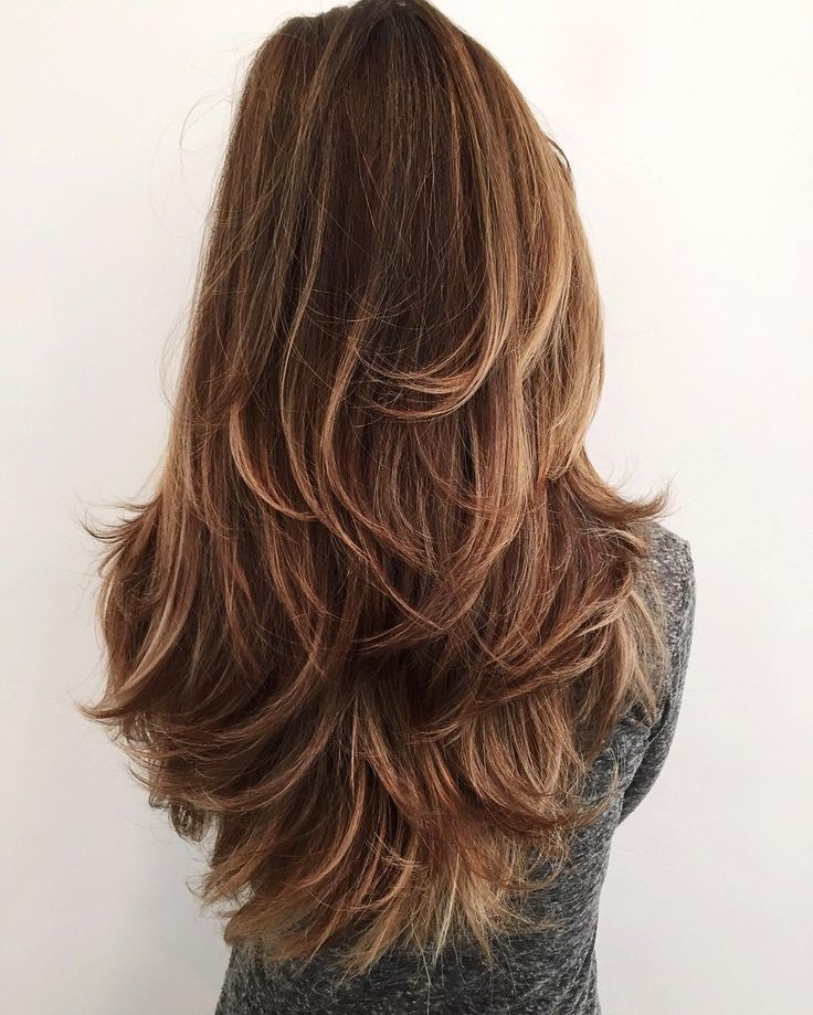 Shaggy Long Straight Hair for women