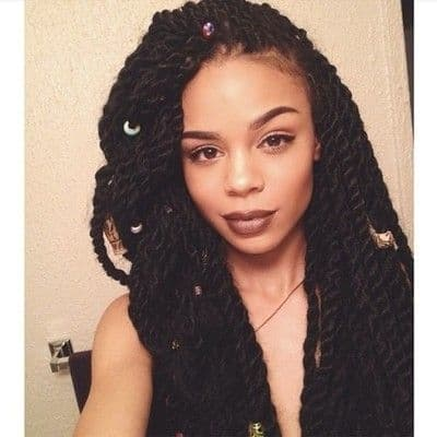 30 Drop-Dead Two Strand Twists – HairstyleCamp