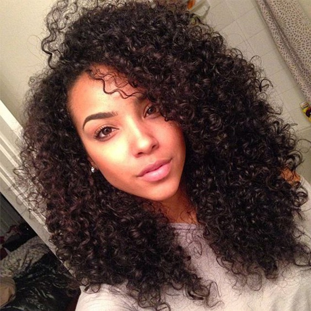 Malaysian Kinky Tight Curly Hair style for women
