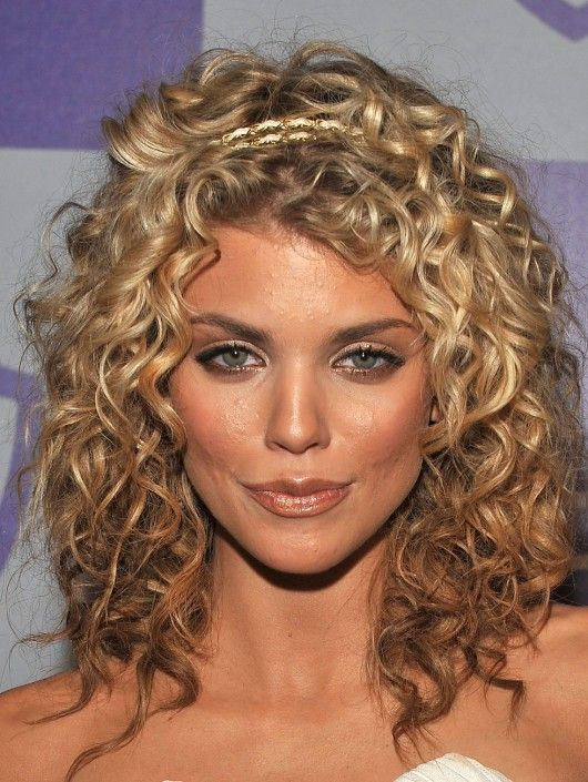 Medium Ombre Curly Hairstyle For Women