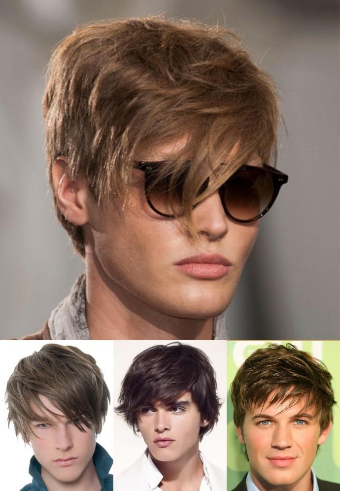 best Eye-covering bangs with widow peak hair