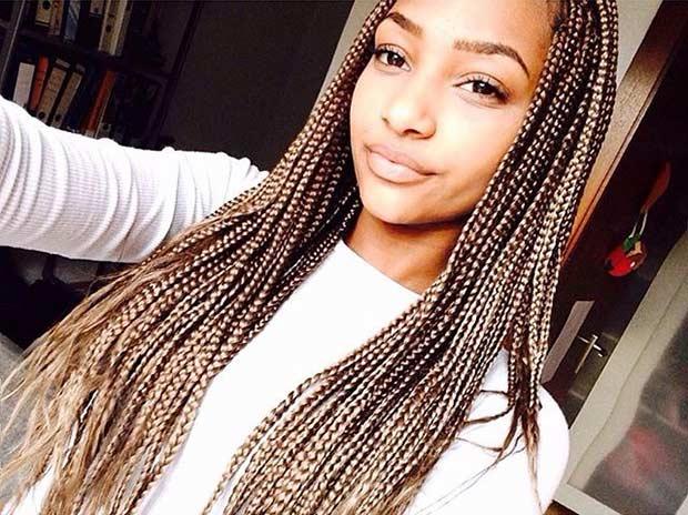 best Goldilocks micro braid hair