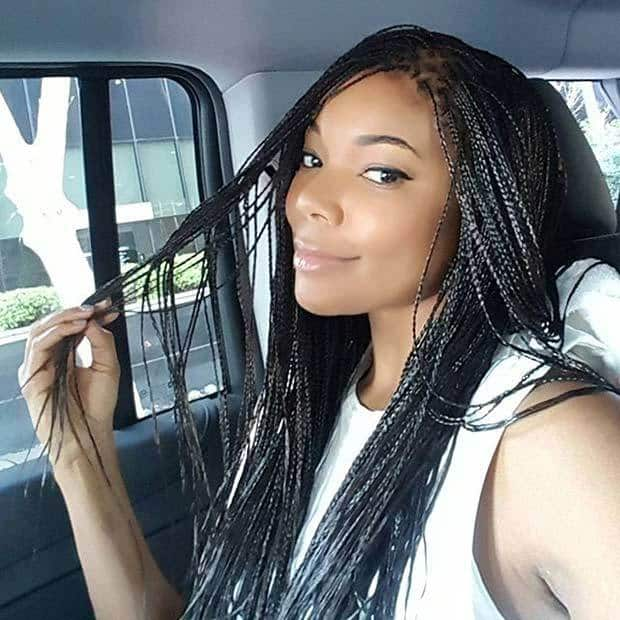 Cutest Micro Braids with Curls & Weave – HairstyleCamp