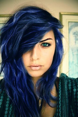 25 Midnight Blue Hair Color Ideas For A Unique Look In 2020