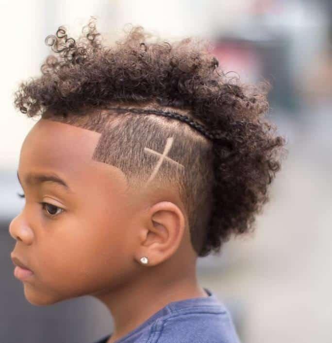Mohawk Haircut Black Boy
