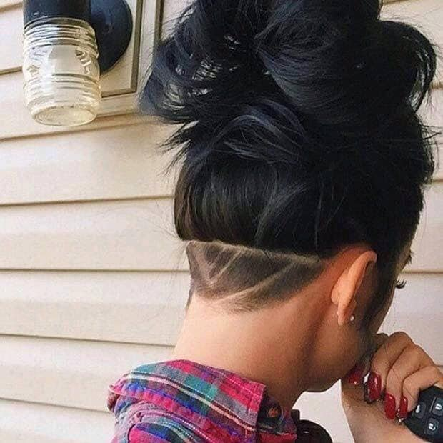 35 Stunning Nape Undercuts For Women Hairstylecamp