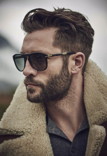 Natural Outline beard cut