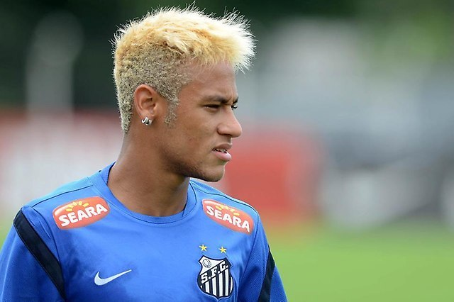 cool Neymar Jr.'s Blonde Locks
