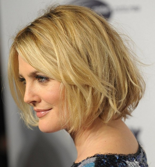 Best Messy Bob hairstyle for girl