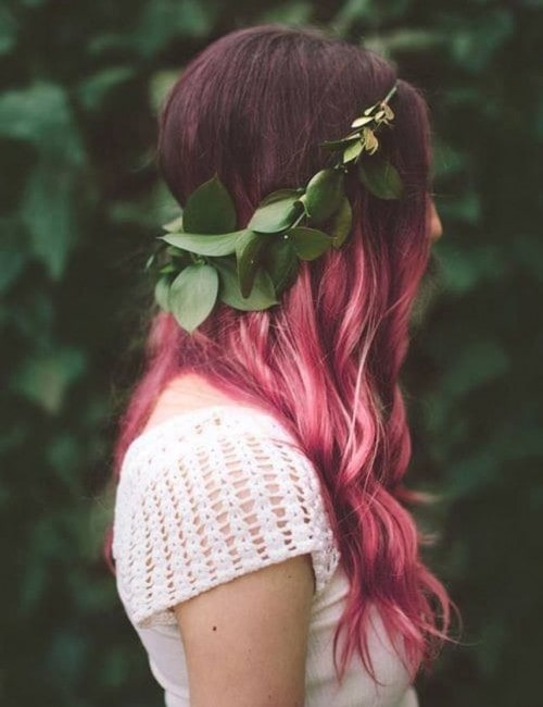 12 Prettiest Pink Ombre Hair Colors Hairstylecamp