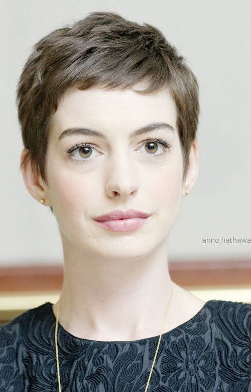 nice Pixie Cut with Bangs hair for women
