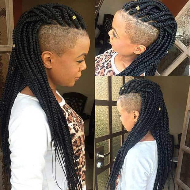 70 Ravishing Poetic Justice Braids To Style In 2019