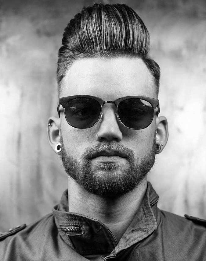 Top 7 Men S Hairstyles For Square Faces And Chiseled Jaws
