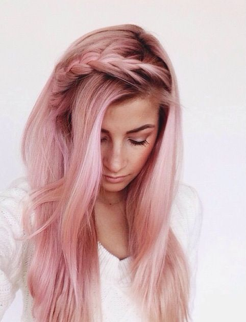 Pastel Pink Prettiest Hair Color