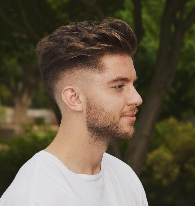 5 Best Disconnected Quiff Hairstyles For The Dapper Dude Hairstylecamp