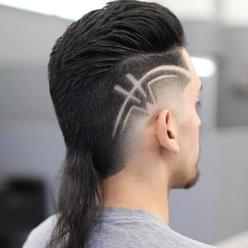 Rat Tail Haircuts Are Not In The Mainstream Yet But They Making A Comeback Stay Ahead Of Trend By Trying Out One These Hairstyles
