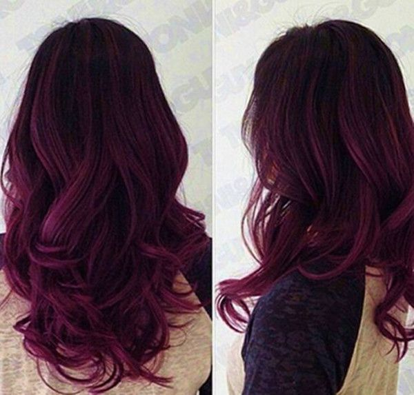 23 Blue And Purple Ombre Hair Color Trends In 2021
